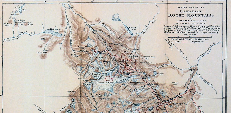 A. P. Coleman Exhibition | Rockies Exploration | Mount Brown (Part 1 ...