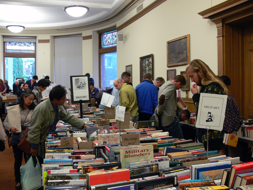 Vic College Book Sale 2012