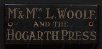 Woolf Plaque