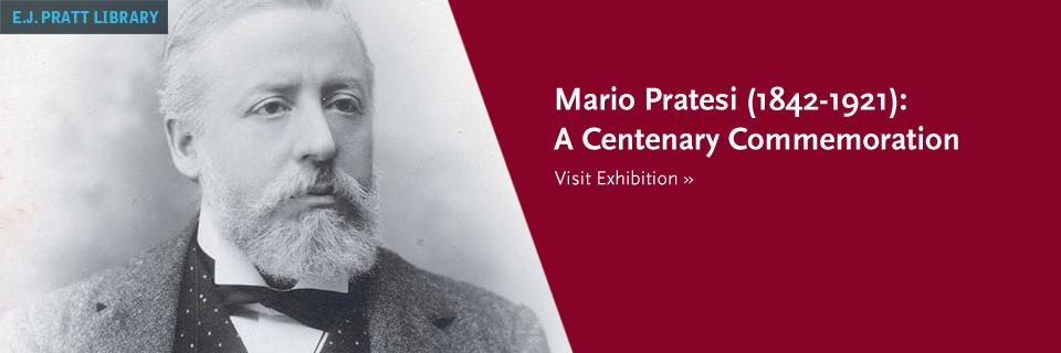 Mario Pratesi (1842-1921): A Centenary Commemoration