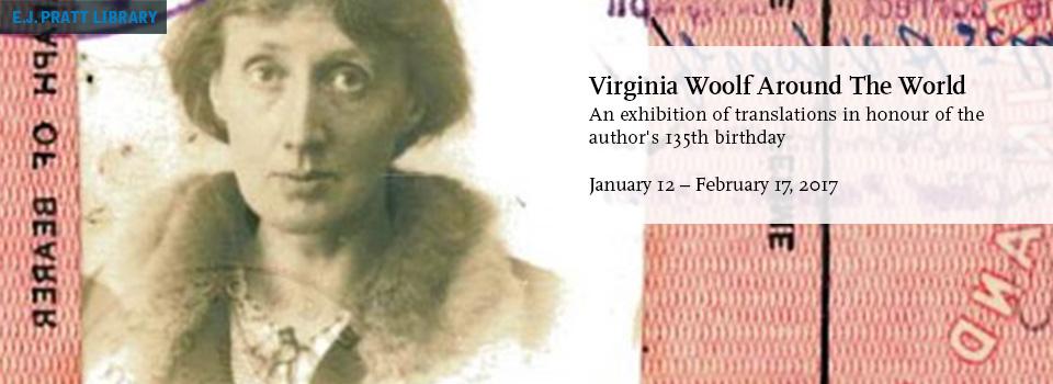 passport portrait of Virginia Woolf