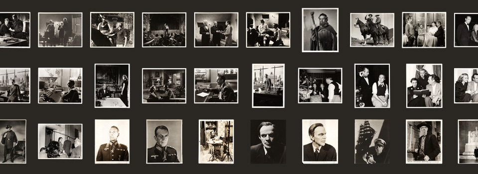 assorted photos from the Raymond Massey collection