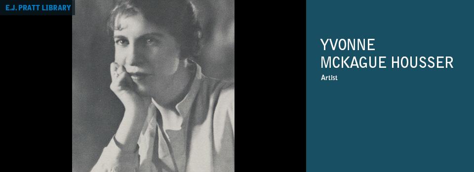 Portrait of Yvonne Mckague Housser; p.10, Northward Journal 16, A Quarterly of Northern Arts