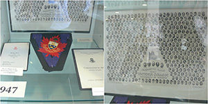 (left to right) Programme, UofT crest, photo of graduating class