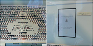 (left to right) photo of graduating class, Programme