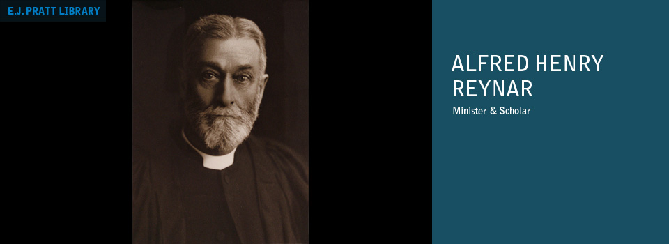 Photograph of Alfred Henry Reynar.