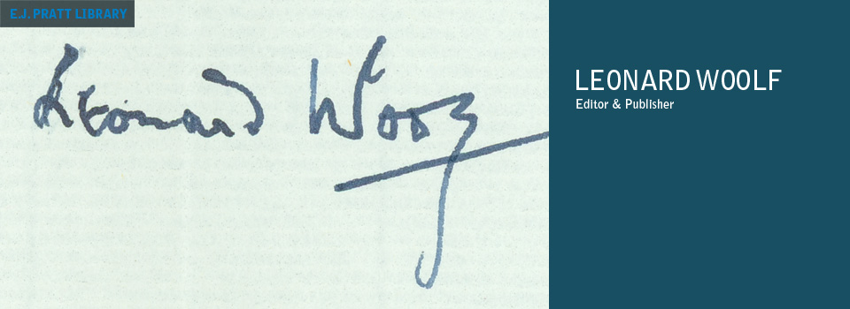 Signatures of Duncan Grant, Vanessa, Clive Bell, Virginia Woolf, and Leonard Woolf.