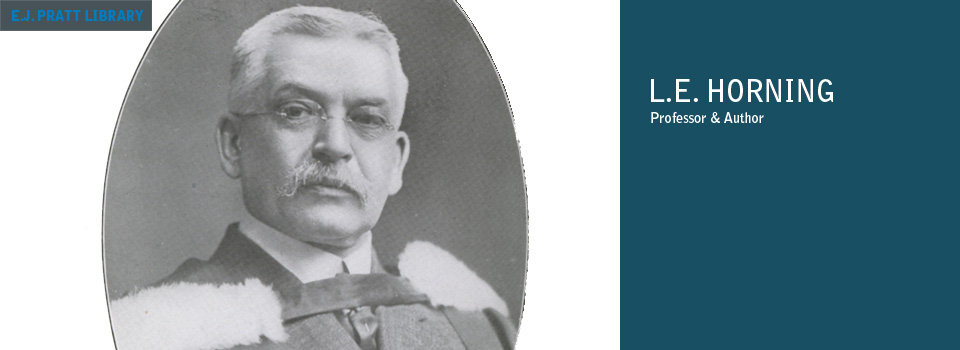 Portrait photograph of Lewis E. Horning.