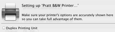 Mac wireless colour printing step six