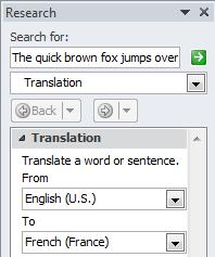 Language Settings in Microsoft Word (2016 Edition