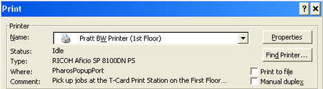 Windows wireless printing step 4