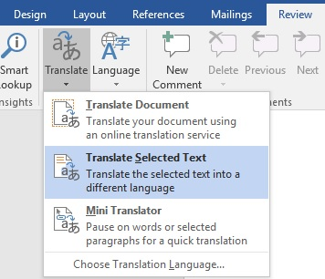 Language Settings in Microsoft Word (2016 Edition) | Technology